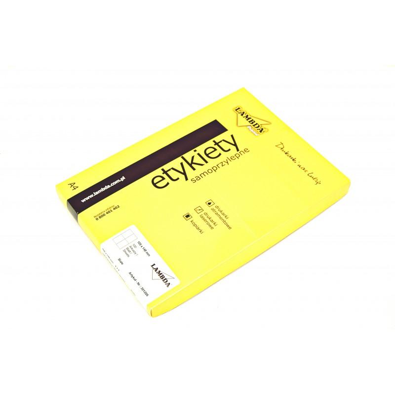 ETYKIETY LAMBDA 105*148/100/