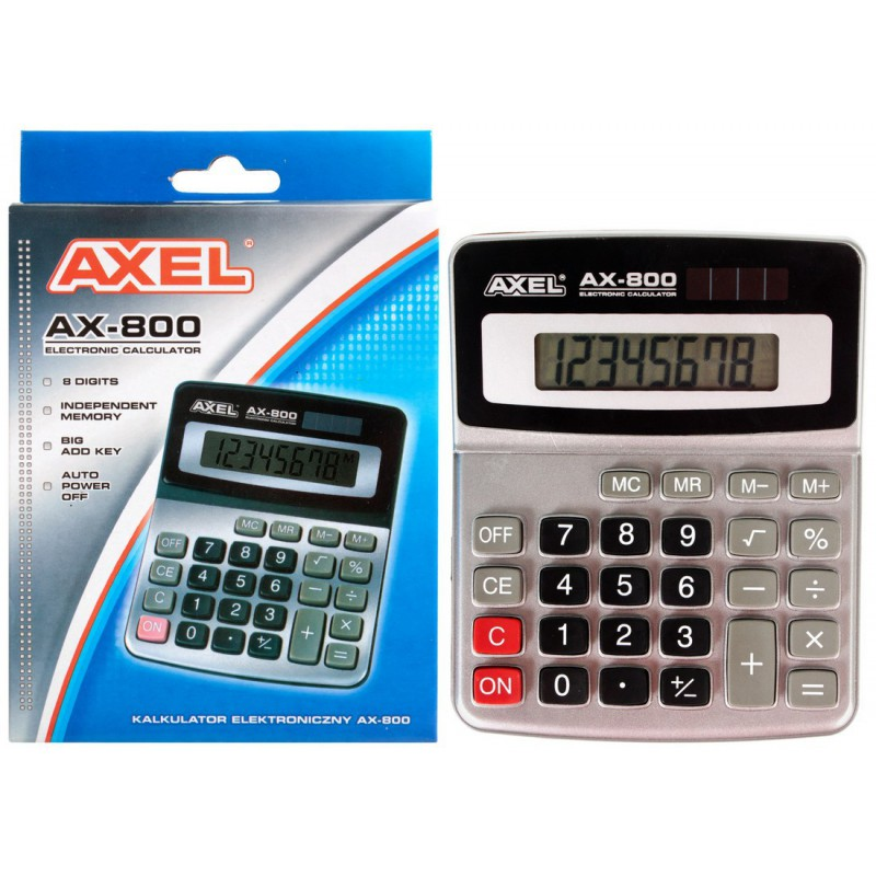 KALKULATOR AXEL AX-800