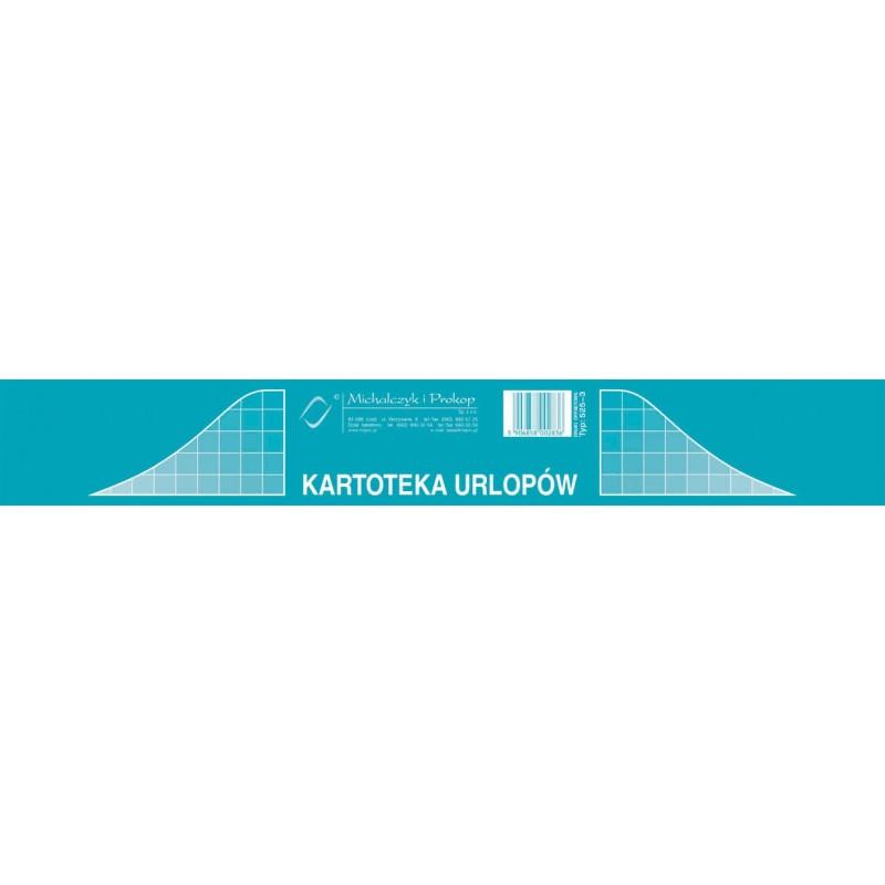 DRUK KARTOTEKA URLOPÓW A5/20/