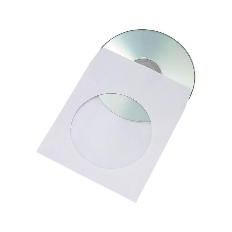 KOPERTA CD NK BIAŁA Z OKNEM