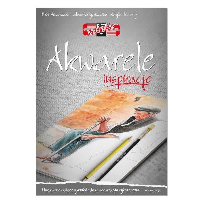 BLOK INSPIRACJE AKWARELE A4...
