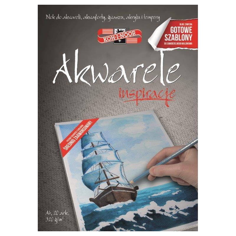 BLOK INSPIRACJE AKWARELE 2...