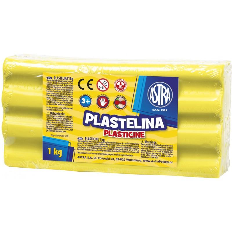 PLASTELINA 1KG CYTRYNA
