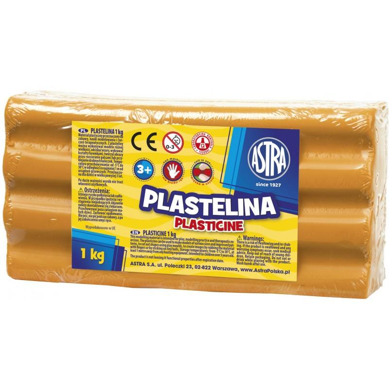 PLASTELINA 1KG POMARAŃCZ