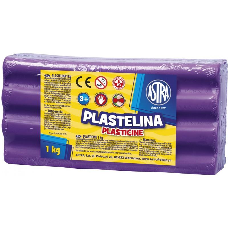 PLASTELINA 1KG FIOLET