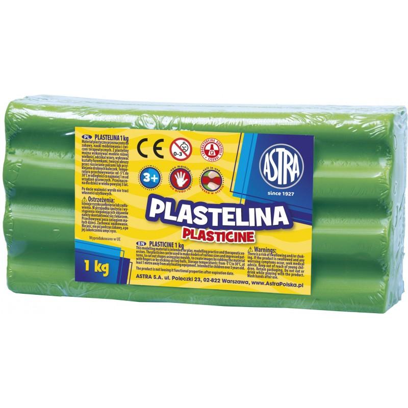 PLASTELINA 1KG J.ZIELONA
