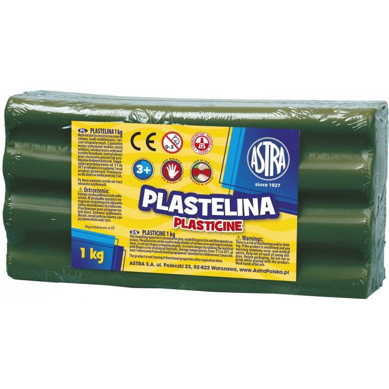 PLASTELINA 1KG C.ZIELONA