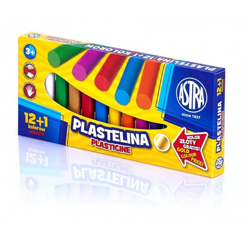 PLASTELINA 12K ASTRA + 1...