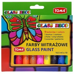 FARBY WITRAŻOWE GLASS PAINT