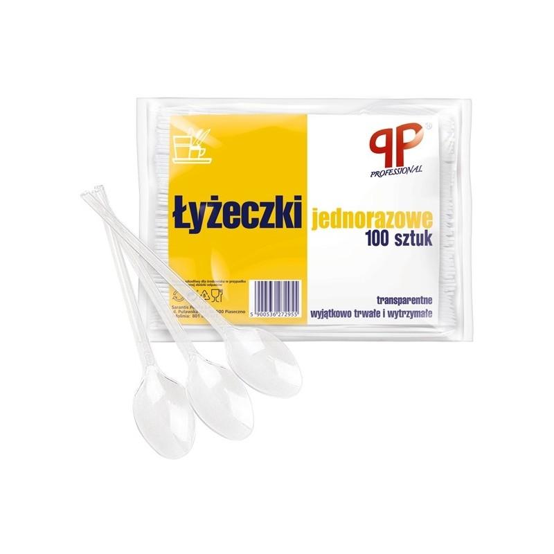 ŁYŻECZKI TRANSPARENTNE /100/