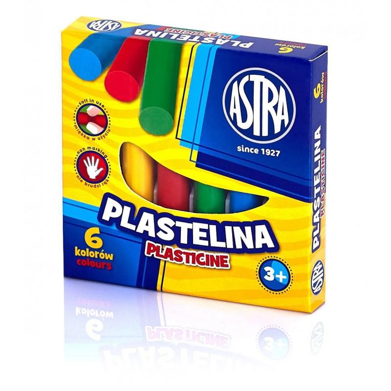PLASTELINA 6K ASTRA