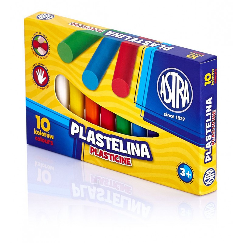 PLASTELINA 10K ASTRA