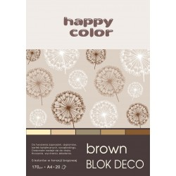 BLOK DECO BROWN A4, /20/ 5K...