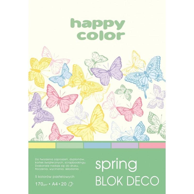 BLOK DECO SPRING A4, /20/...