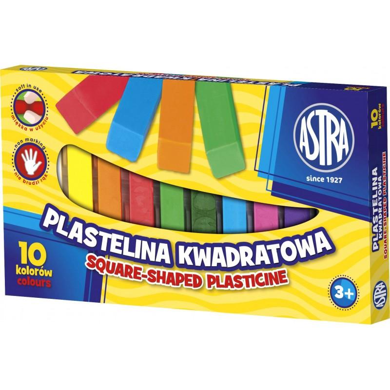 PLASTELINA 10K KWADRAT.ASTRA